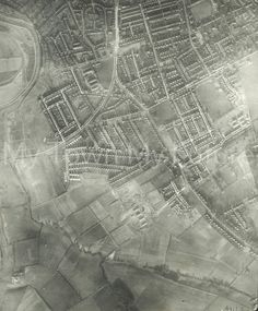 Middlesbrough Mandale Road, Levick Crescent 1951 Photo courtesy of Middlesbrough Reference Library Middlesbrough, My Town, City Photo, Tower, Future, History, Building, Travel, Rook