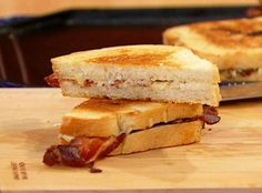 Grilled Cheese with Bacon and Maple Mustard