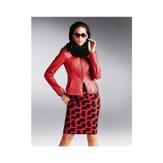Skirt, wool cashmere via Polyvore featuring skirts, knee length pencil skirt, wool skirt, red skirt, wool pencil skirt en cashmere skirt