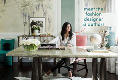 Style at Work: Inside Rachel Roy's Chic Home Office
