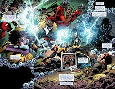 """Milestones"" from Static Shock vol.2 #8 (DC, 2012) by Marc Bernardin, Scott McDaniel and Andy Owens"