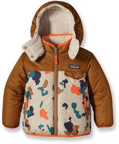Patagonia Male Baby Reversible Tribbles Insulated Jacket - Infant/Toddler Boys'