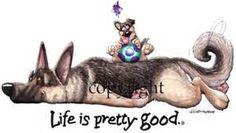 German Shepherds Cartoon - Yahoo Image Search Results