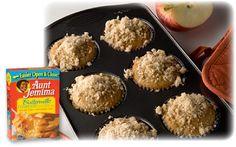 Aunt Jemima Apple Muffins Recipe | Family Dollar