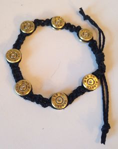 40 Caliber Bullet Bracelet for Men or Women, Mens accessories, Womens jewelry, Bullet jewelry, Upcycled bullets, Unique jewelry by ShotThruTheHeart on Etsy