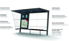 The MSi is an innovative bus stop shelter that provides real time travel information from an information management system powered with sola...