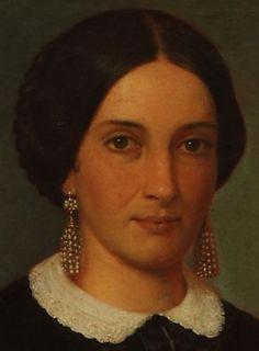 .;. Detail from Trinidad Saravia de Huergo, Prilidiano Pueyrredon, 1866
