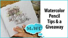 Very nice tips for sketching with wc pencils and water brush. Watercolor Pencils Techniques, Watercolor Pencil Art, Watercolor Video, Pencil Painting, Watercolour Tutorials, Watercolor Artists, Painting & Drawing, Watercolour Painting, Watercolors