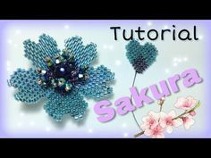 YouTube Beaded Flowers Patterns, Beading Patterns, Beaded Jewelry Designs, Seed Bead Jewelry, Beading Projects, Beading Tutorials, Minecraft Beads, Seed Bead Flowers, Beaded Cross Stitch