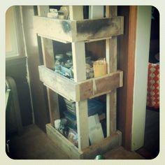 Scrap wood craft organization...