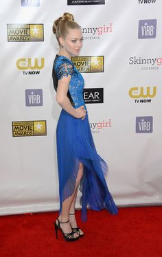Amanda Seyfried  - 2013 Critics' Choice Movie Awards