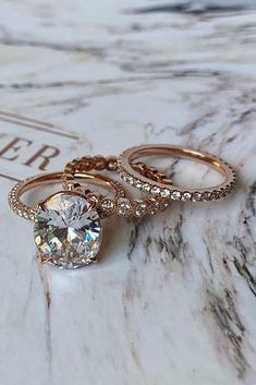 Curved Wedding Band women vintage white gold Diamond Ring Unique Bridal set stacking Delicate Promise matching band Anniversary gift for her - Fine Jewelry Ideas Bridal Ring Sets, Bridal Jewelry Sets, Bridal Rings, Unique Diamond Engagement Rings, Vintage Engagement Rings, Wedding Rings Rose Gold, Gold Wedding, Trendy Wedding, Wedding Bands