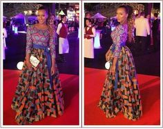 I absolutely love this dress,gorgeous and love the way the used the two different Ankara prints on the top and bottom of the dress, simply stunning. I want one. #Ankara #longdress #fashion #Africanprint #details #Stylish #Beautiful