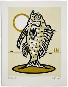 artoogle Kunstwerk Ralf Schmidt: Stehfisch II