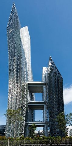 Keppel Bay Residential Complex - Daniel Libeskind - Singapore