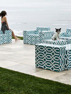 modular outdoor furniture by James DeWulf