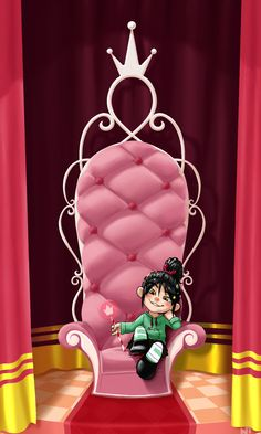 Vanellope - Wreck-It-Ralph