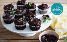 Kidney bean chocolate cupcakes
