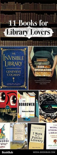 These books about libraries would make perfect gifts for the bookworm in your life!