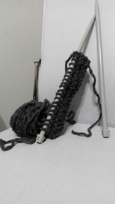 Bufanda para este invierno #knitting