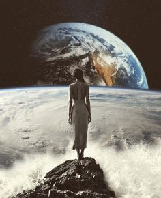 The perfect Earth Animated GIF for your conversation. Discover and Share the best GIFs on Tenor. Photomontage, Street Photography, Art Photography, Foto Fantasy, Animiertes Gif, Wave Art, Crashing Waves, Collage Artists, Collages