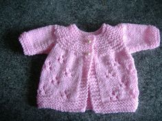 I enjoyed making these cute little premature baby jackets. : I enjoyed making these cute little premature baby jackets. Mayflower's Sunday Best Jacket the pattern can be found on the Loving … Baby Knitting Patterns, Baby Knitting Free, Baby Cardigan Knitting Pattern Free, Knitted Baby Cardigan, Knitting For Charity, Knit Baby Sweaters, Baby Patterns, Crochet Patterns, Baby Knits