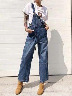 Fashion Long Jean Pants Jumpsuits – chicboho Size Chart ec430bbdc3e8