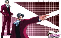 Miles Edgeworth .Prosecuting Attorney in all pats of Phoenix Wright the ace attorney and in Ace attorney investigation 1 & 2