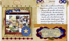 Lynn Shokoples created her Misc. Me pages this month using the Anthem Collection. So many goodies on these pages!! Have you started your Misc. Me Life Journal? #BoBunny, @LynnShokoples