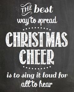 Christmas Chalkboard Printables | best stuff