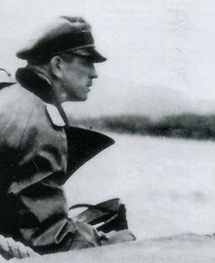 Kurt  Meyer in the field