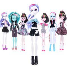 新しい到着手作り皮質服&スポーツウェアファッションドレス用モンスター高人形&用barbie人形& bjd人形