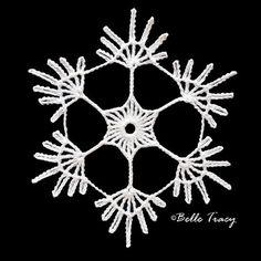 100 Free Crochet Snowflakes @ crochetreasures                                                                                                                                                                                 More
