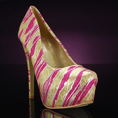 CSD-12-03-FUCHSIA by CAPE ROBBIN   These platform pumps are covered with glitter for even more glam! Perfect for prom or a girls' night out, these on-trend heels are simply show stopping. ON SALE for $30  promshoes.com Pink Prom Shoes, Bridesmaid Shoes, Pink Parties, Party Shoes, Girls Night Out, Platform Pumps, Wedding Shoes, Going Out, Hot Pink