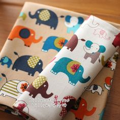 A personal favorite from my Etsy shop https://www.etsy.com/listing/222219832/w42-elephants-fabrics-cotton-linen-in