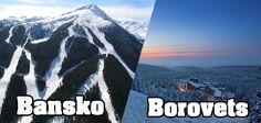 Bansko vs Borovets