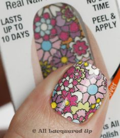 Sally Hansen Salon Effects 'Real Nail Polish Strips' - Girl Flower / AllLacqueredUp