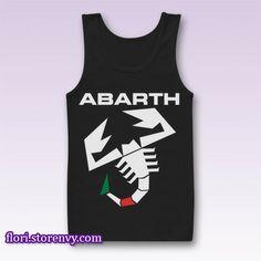 Abarth Car Rally Italia Tank Top All Size