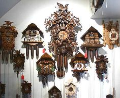 Cuckoo clocks, every one need one