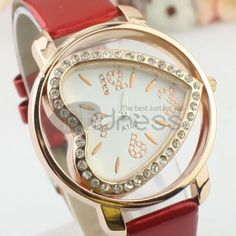Gorgeous red fashion watches