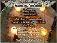 Nettoyer une pièce à l aide d une bougie Page Facebook : Spiritualité, Magie Blanche Lumière
