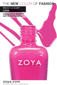 RE-PIN ME! Zoya Nail Polish in Lara from the Beach Collection http://www.zoya.com/content/38/item/Zoya/Zoya-Nail-Polish-Lara-ZP615.html?O=PN120521MN00136