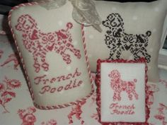 New JBW Designs cross stitch: French Country Poodle