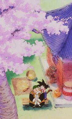 Goku (Niño-Kid) ~ Son Gohan (Abuelo-Grandpa)