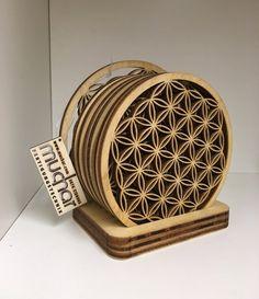 Blume des Lebens Untersetzer Decorative Boxes, Etsy, Home Decor, Flower Of Life, Carafe, Coasters, Flasks, Gifts, Decorations
