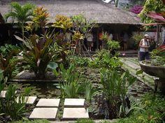 Villa Bebek, Sanur, Bali  Villa Bebek is home to internationally recognised landscape designer Made Wijaya