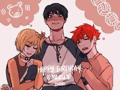 """kkumri: """"happy belated birthday @meru90 ♡♡!!!!! """""""