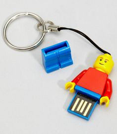 LEGO action figure USB flashdrive
