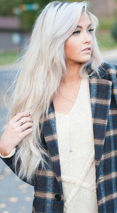damenfrisuren blondes haar lang