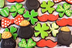 LilaLoa: How To Make Easy Pot Of Gold Cookies For St. Patrick's Day